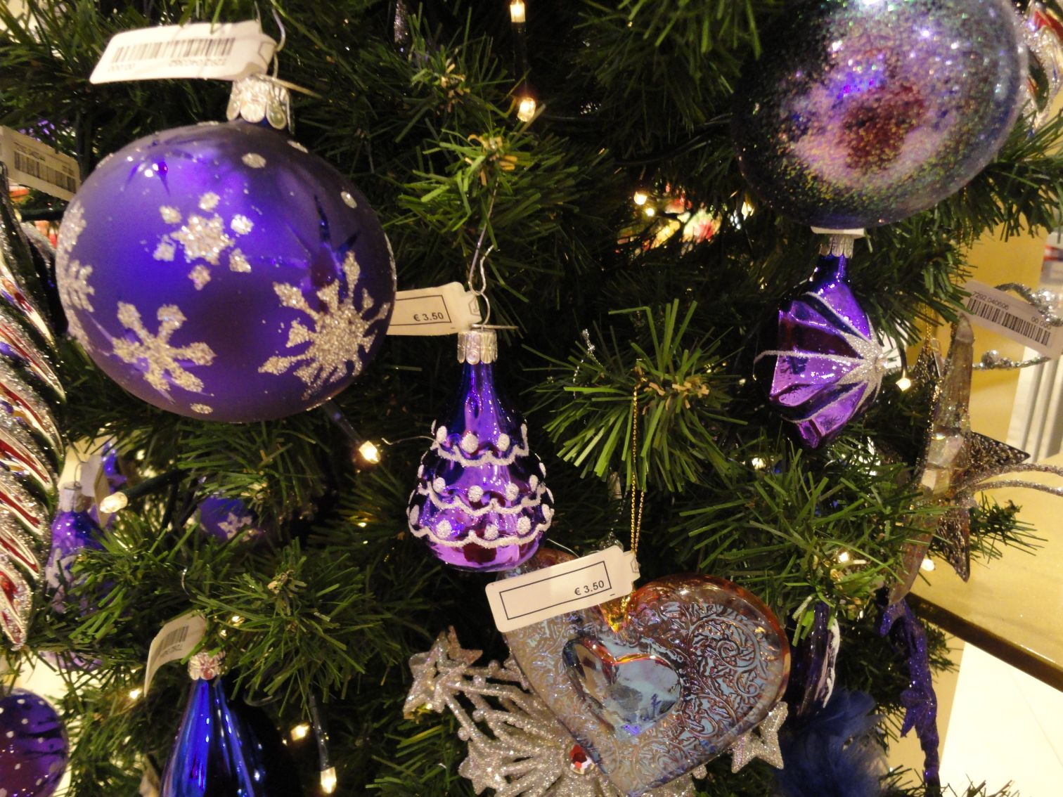 Trends kerst 2012: lila, purple, paars!   christmaholic.nl