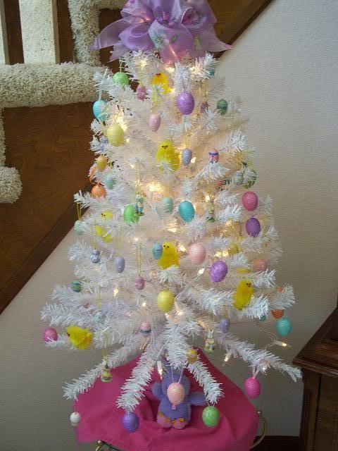 Paasboom Versieren Hergebruik Je Kerstboom