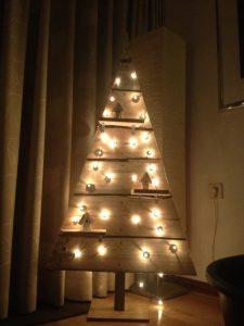 houten kerstboom 1