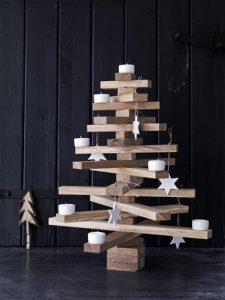 houten kerstboom 11