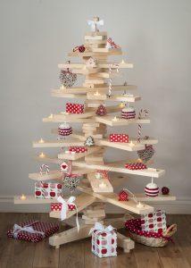 houten kerstboom 12