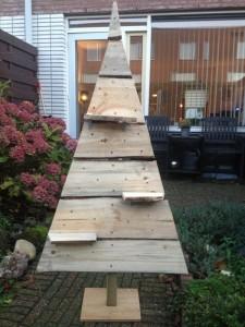 houten kerstboom 2