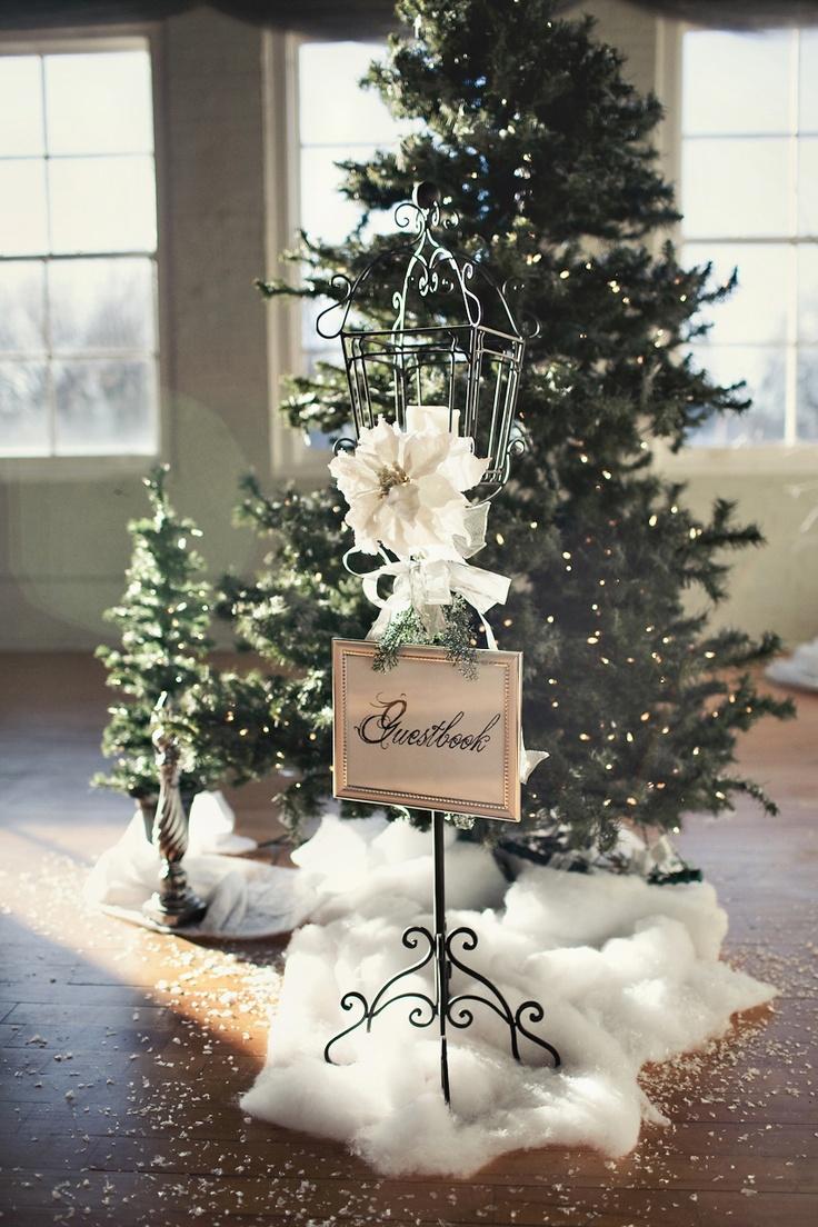 Trouwen met kerst idee n voor winterse decoratie - Fotos decoratie ...