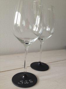 krijtverf wijnglazen lindy 2
