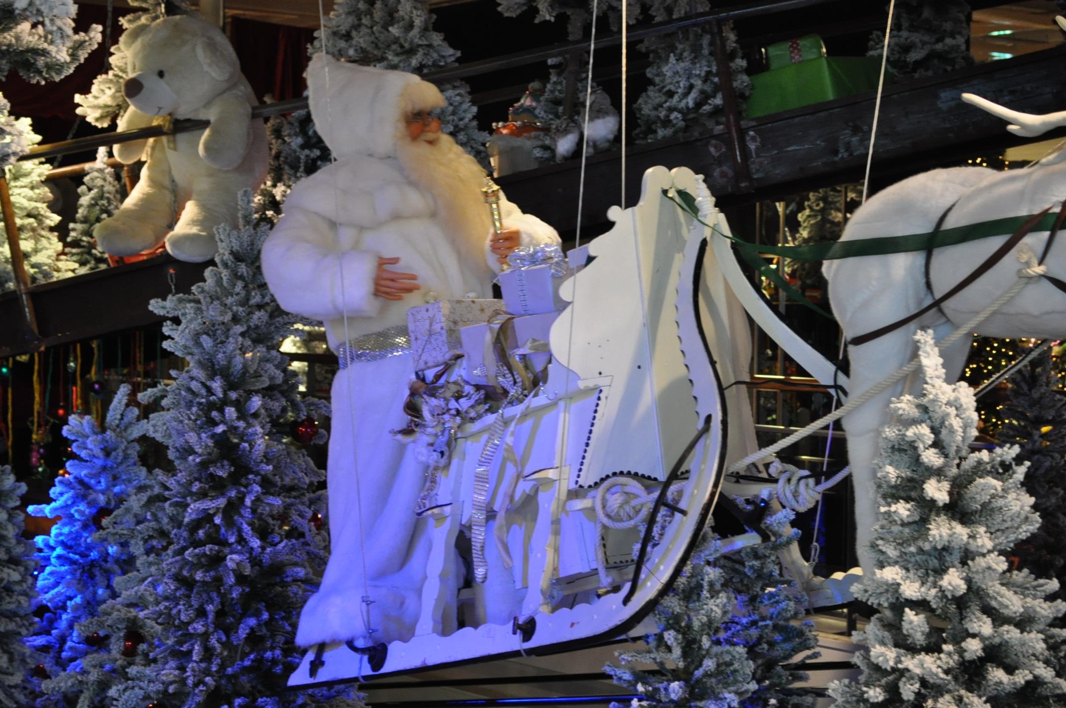 Intratuin duiven kerstshow 2013