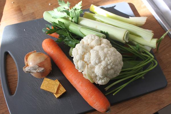 maken van groentesoep