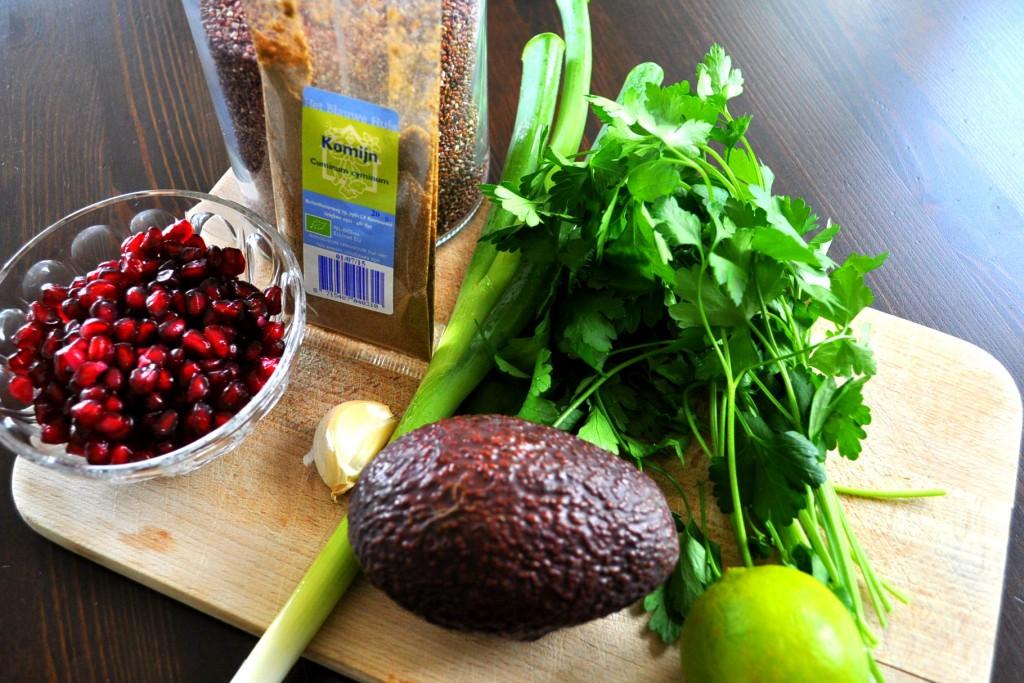 Ingredienten quinoasalade culy way of life