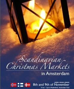 gezamenlijke scandinavische kerstmarkt