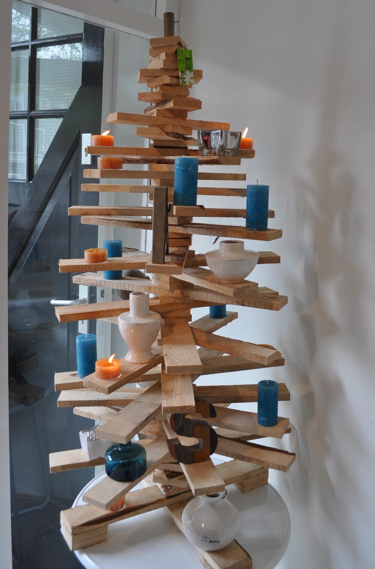 Kersttrends 2013 8 blauw wit hout for Houten tuinkast intratuin
