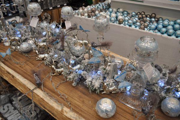 Kersttrends 2013 #8: Blauw, wit u0026 hout