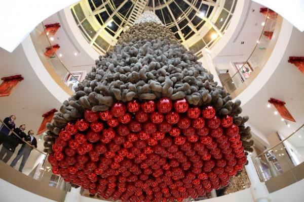 kerstboom hangen