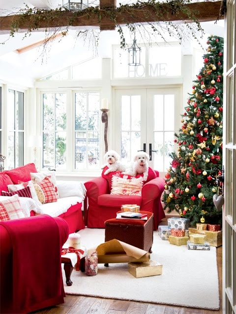 christmas living room 2