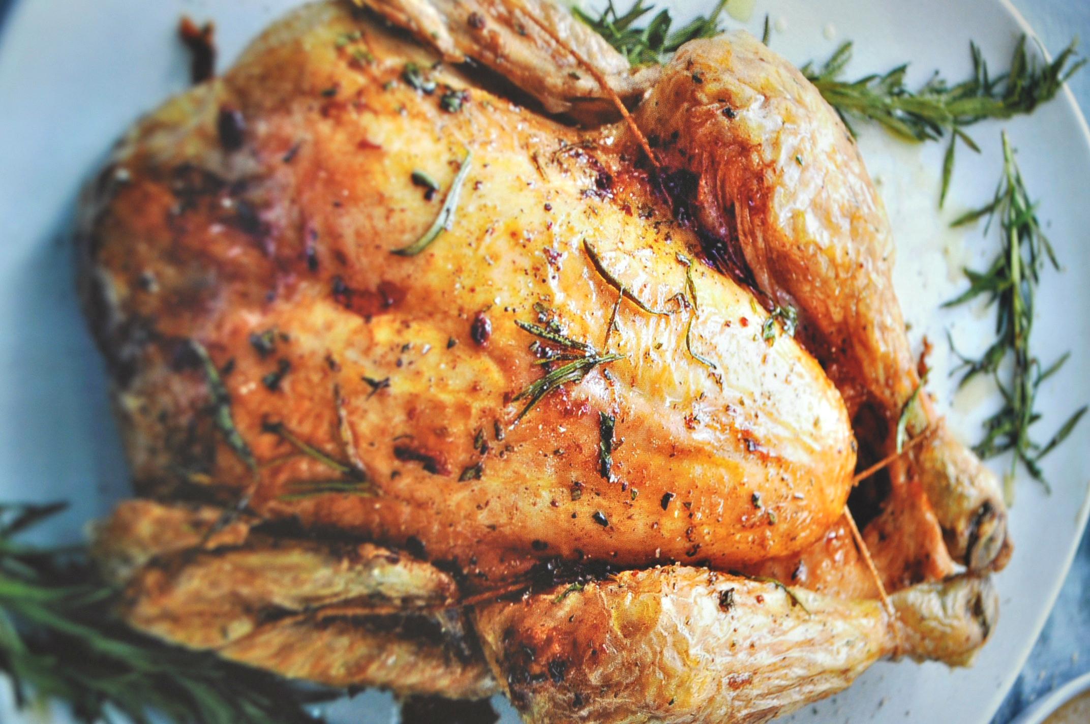 kerstgerechten kip