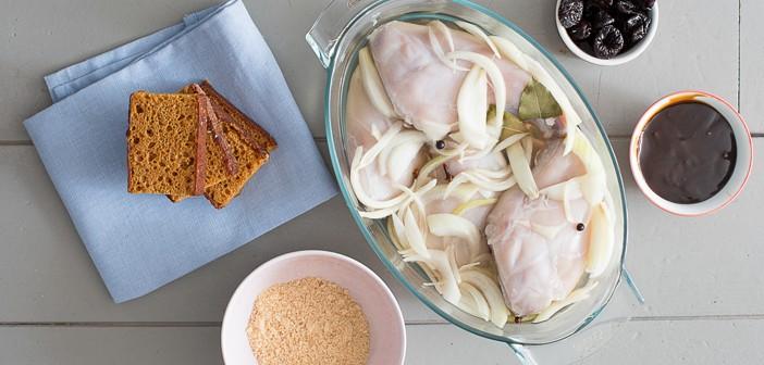 Recept: Limburgs konijn