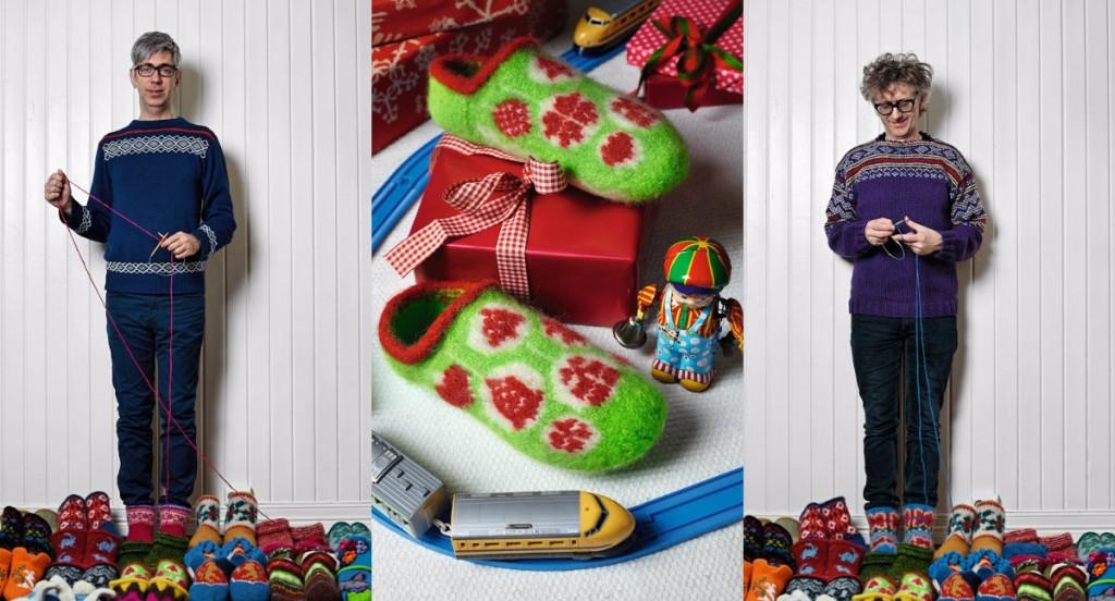 arne & carlos breien sloffen kerst 2014