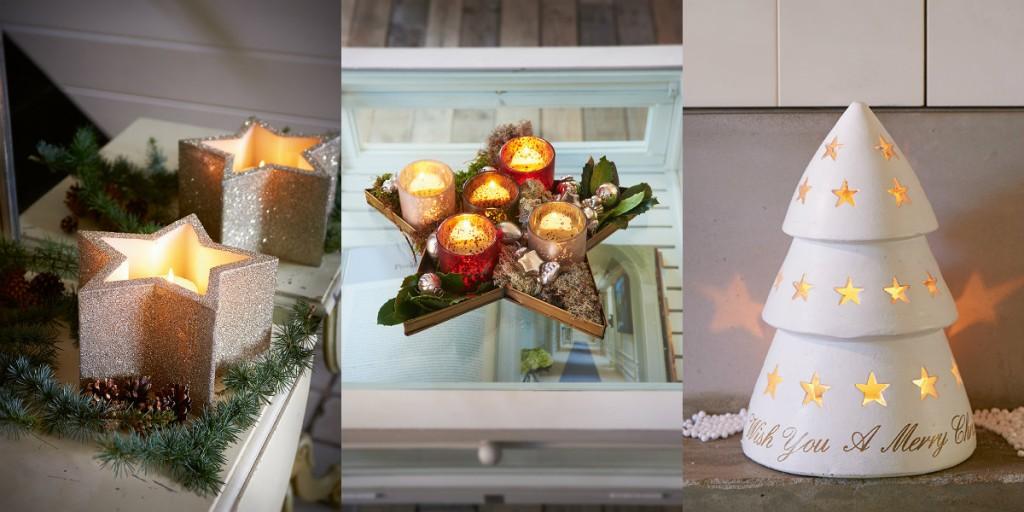 collage kaarsen riviera maison kerst 2014