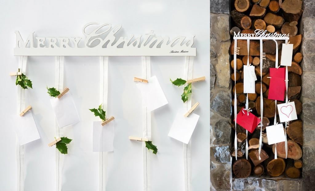 collage linten kaarten riviera maison 2014 kerst