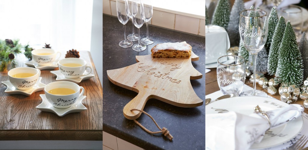 collage tafelen koken riviera maison kerstcollectie 2014