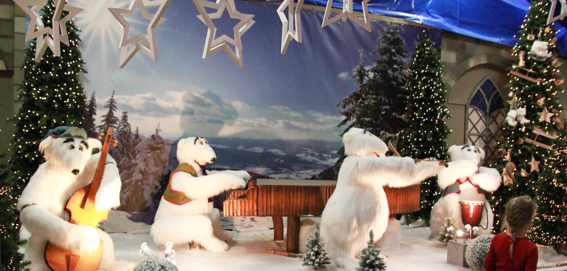 Een kindvriendelijke kerstshow bij eurofleur in leusden