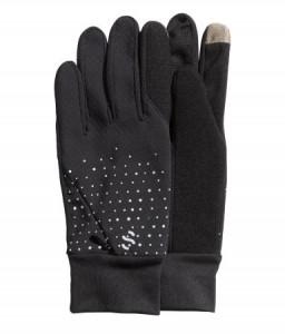 Hardloophandschoen met touch materiaal, H&M, € 9,99