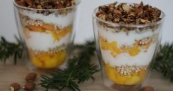 Recept voor een gezond kerstdessert: tropische trifle