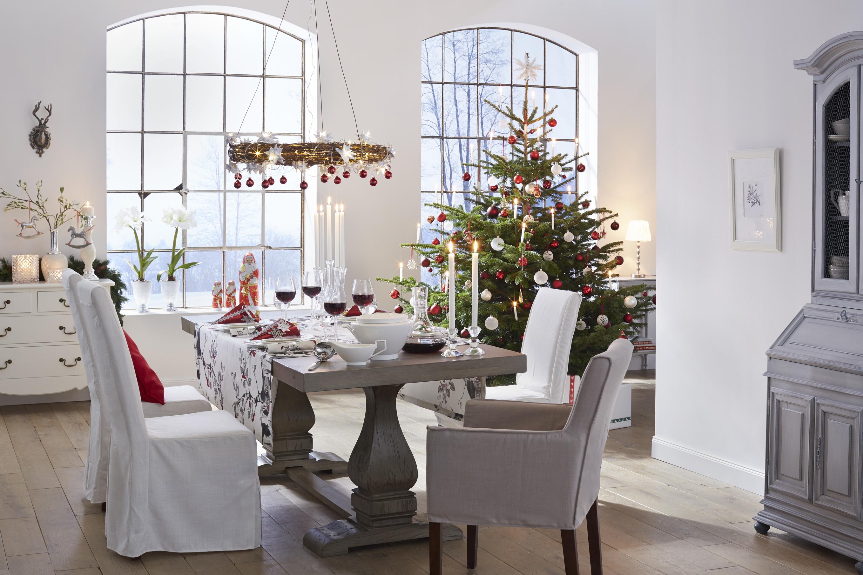Kersttafel dekken prachtige voorbeelden van feestelijke for Weihnachten wohnung dekorieren