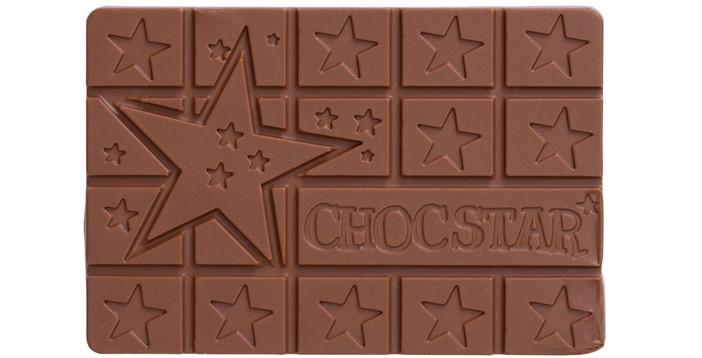 Chocstar_Melkchocolade_Sterren