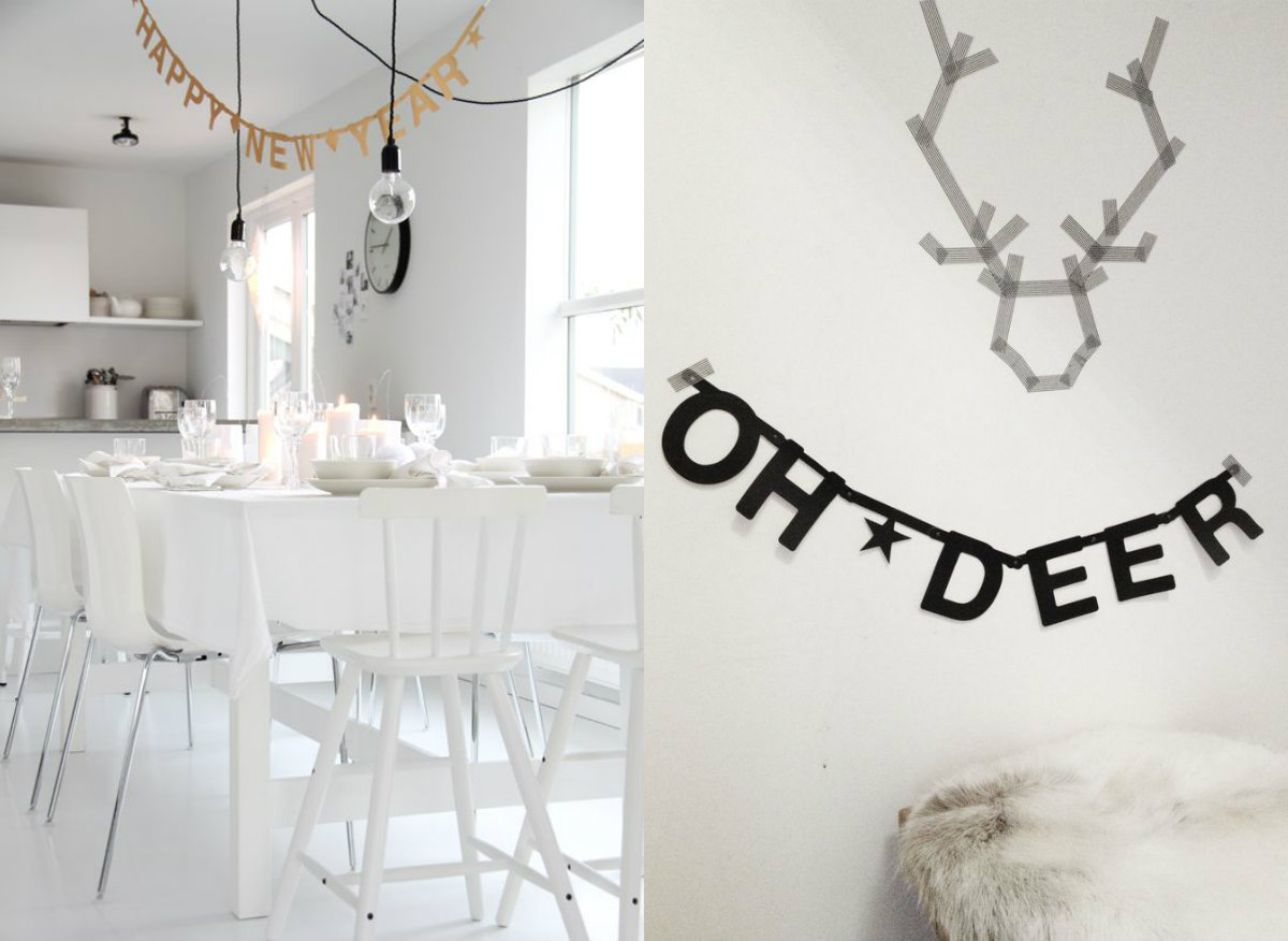 Zwart Wit Kerstdecoraties : Kerst in zwart & wit: laat je inspireren!