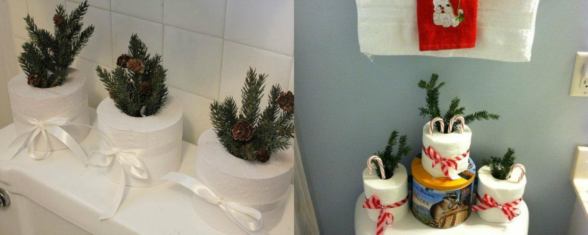 10x kerstsfeer op je toilet badkamer - Decoratie douche en toilet ...