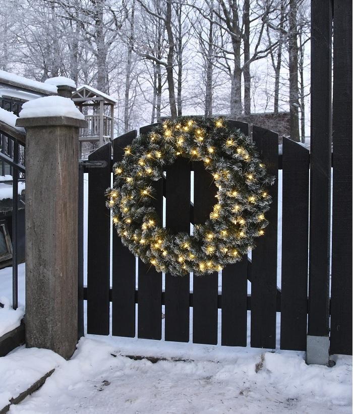 Kerst bij allekabels een verrassende collectie kerstverlichting - Versieren van een muur in ...