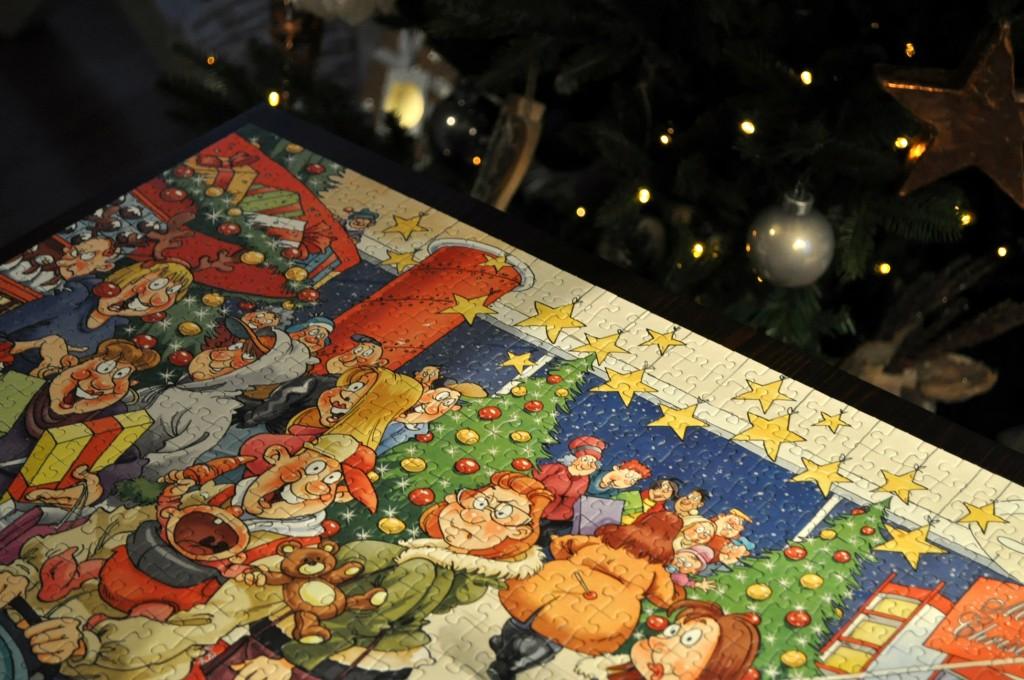 kerstpuzzelen
