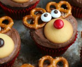Recept: Rudolph the red-nosed cupcakes