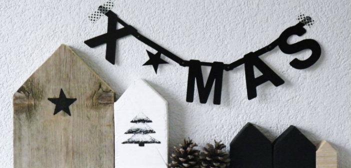 wordbanner letterbanner woordbanners kerst