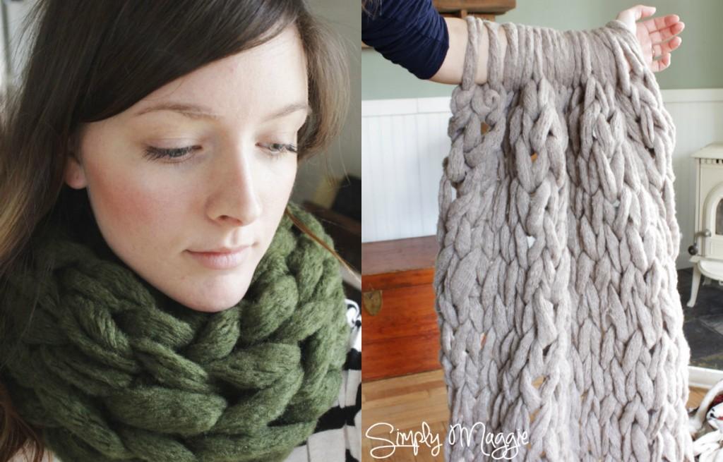 zelf kleed of sjaal breien cadeau