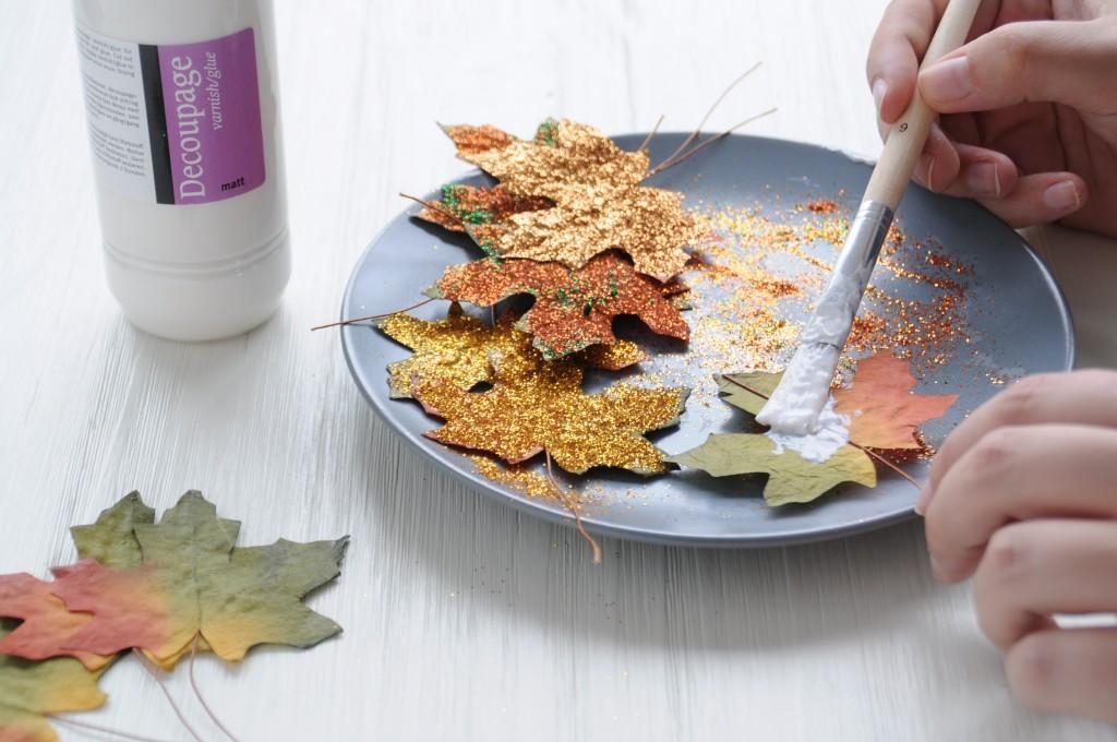 herfstbladeren slinger DIY