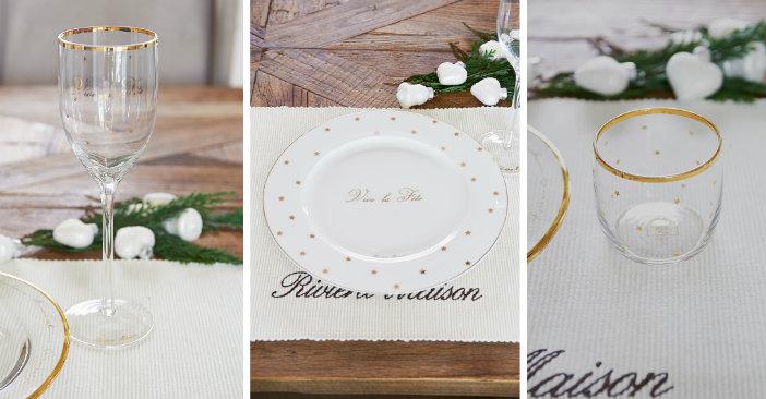 collage servies glas kerst riviera maison 2015