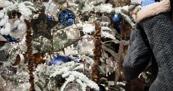 trend kerst blauw wit landelijk