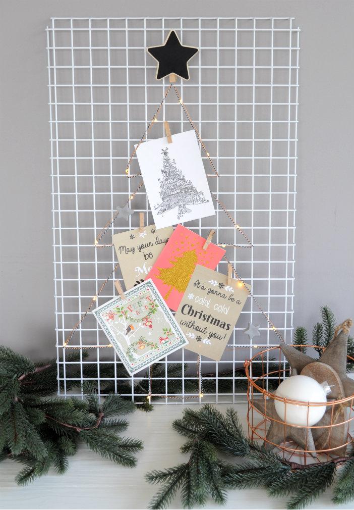 Diy wandrek versieren voor kerst - Wandrek ijzeren ...