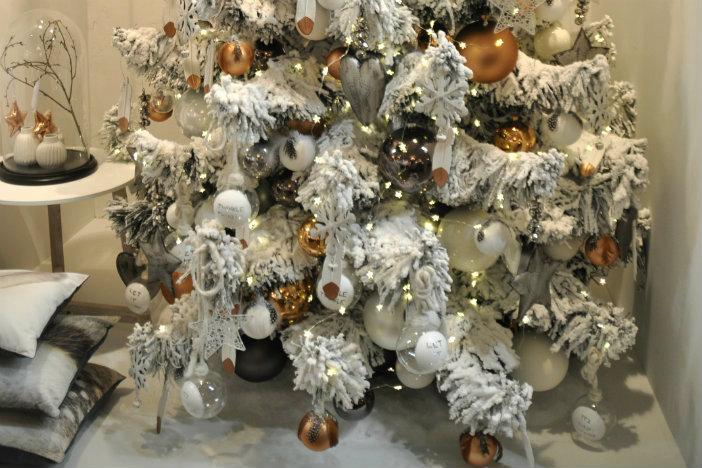 Zwart Wit Kerstdecoraties : Kerst trends 2015: stoer & industrieel met koper
