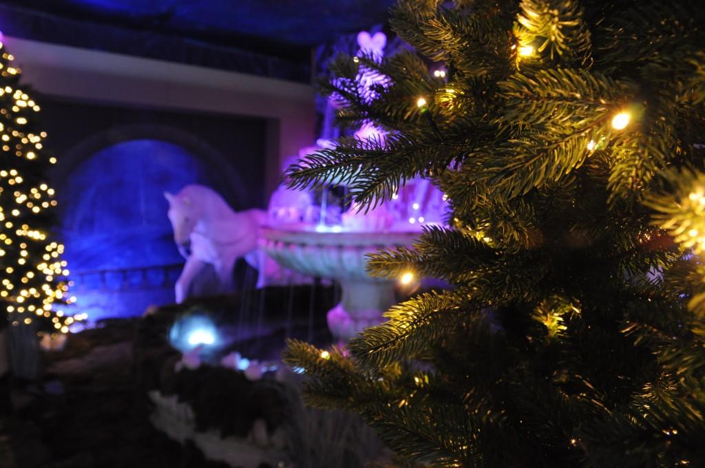 Kerstshow Intratuin Duiven kerstafdeling 2015