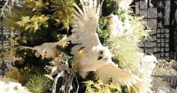 kerst trends 2015 vogels veren kerstboom