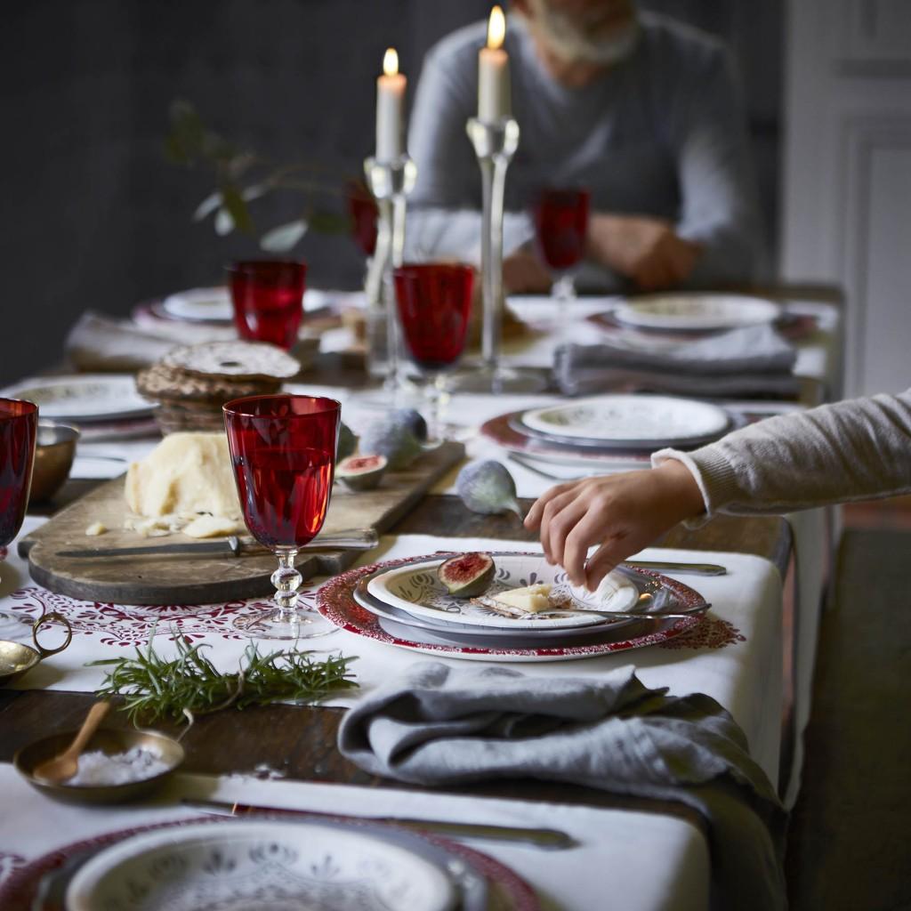 Kerst koken tafelen tafel dekken bakken IKEA 2015