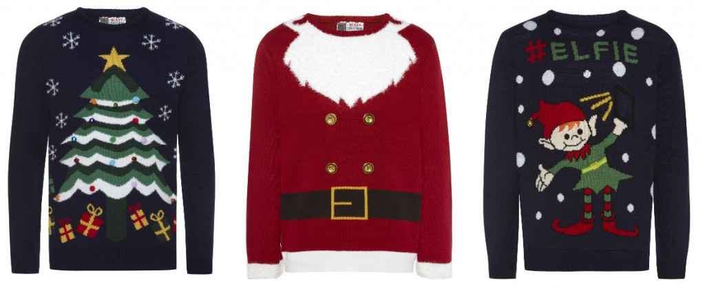 collage heren mannen kerst truien primark 2015