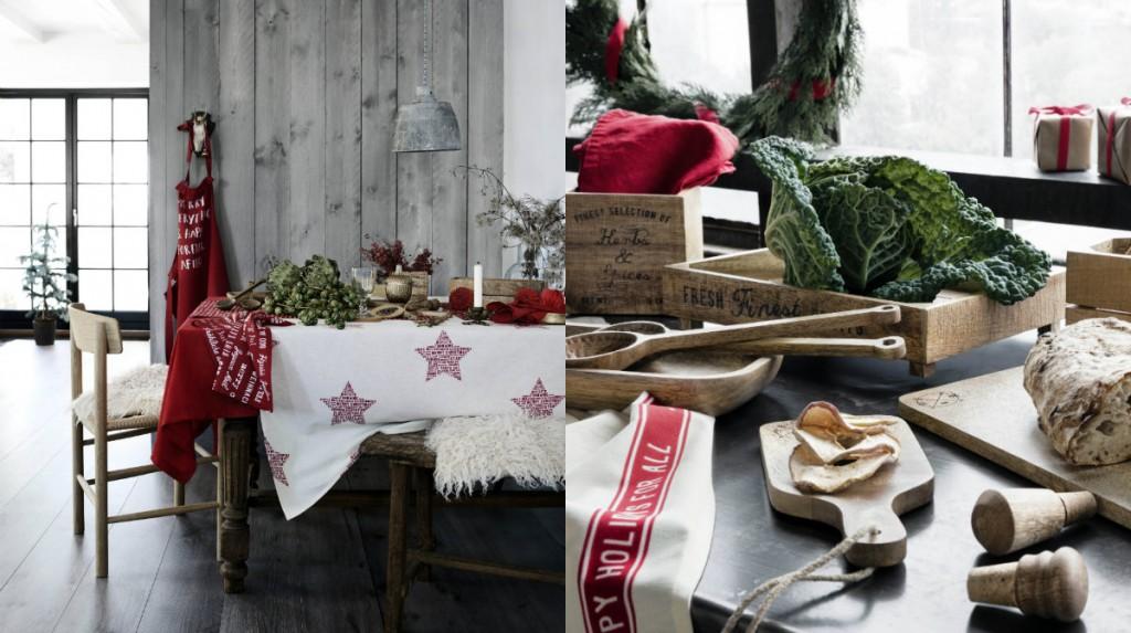 collage kerst H&M Home 2015 kerstcollectie
