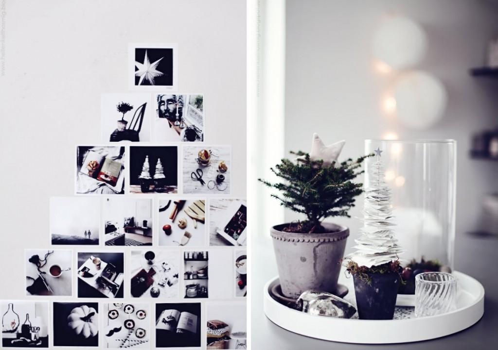 Kerst in zwart wit laat je inspireren - Deco foto ...