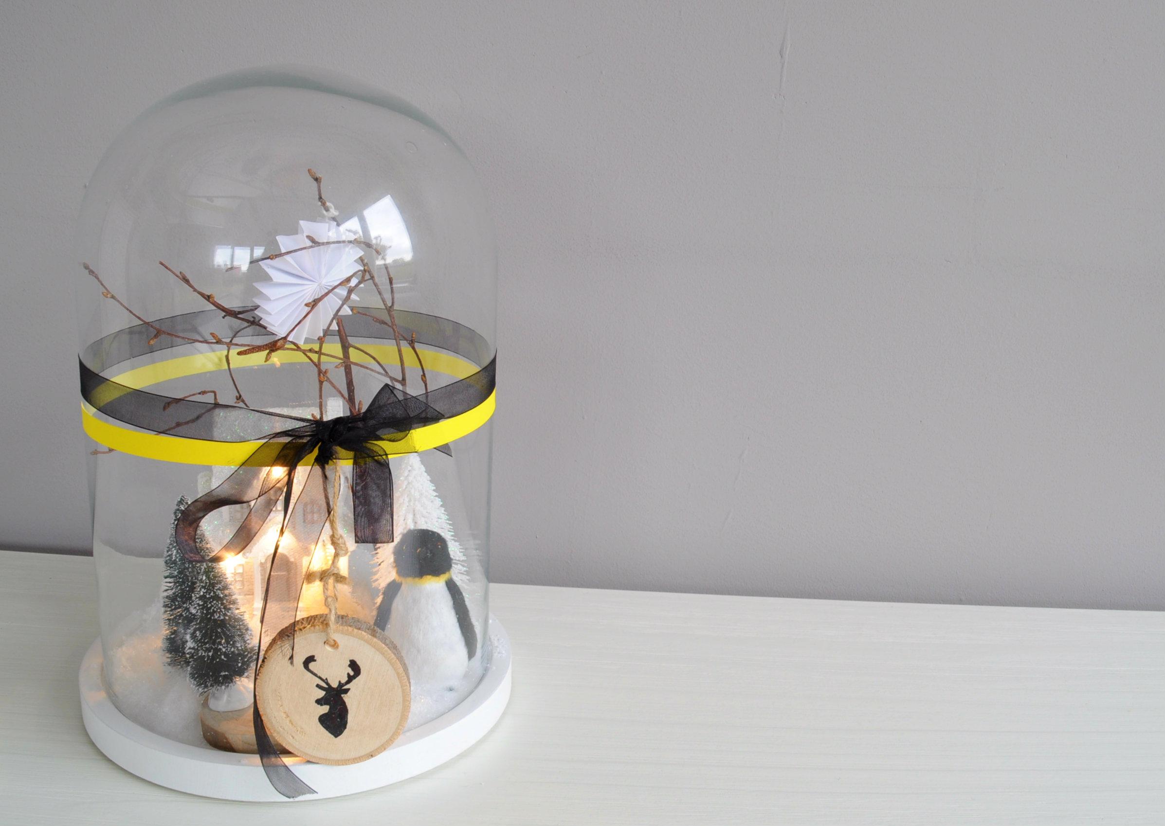 Glazen stolp kerst for Intratuin wijchen