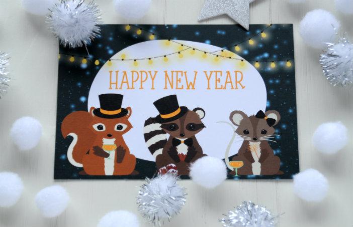 happy newyear nieuwjaar kaarten sturen
