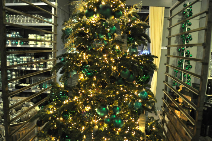 kerstboom groene kerstdecoratie