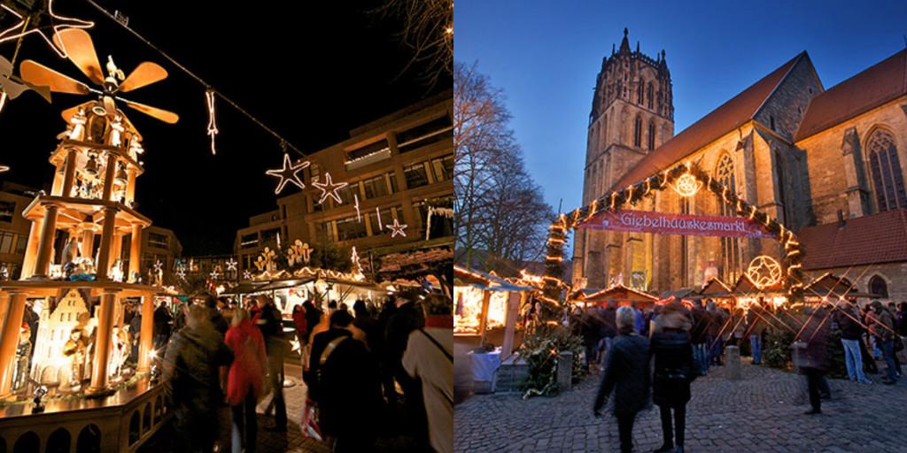 collage kerstmarkt duitsland munster 2015