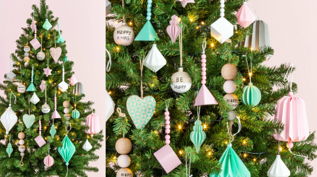 collage pastels kerstcollectie xenos 2015